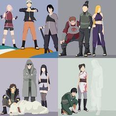 Team Kakashi, Team Asuma, Team Kurenai and Team Guy || Naruto Shippuden