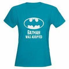 Batman was Adopted Women's T-Shirt