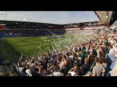 Tifo Vålerenga - Rosenborg at Ullevaal Stadion