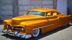 "John Gimelli's 1951 Cadillac ""Golden Dream""..Re-pin...Brought to you by #CarInsurance at #HouseofInsurance in Eugene, Oregon"