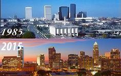 Charlotte was originally founded in 1768onthe crossroads of two Native American crossroads, on the corner of Trade and Tryon, or Independence Square. Since then, there have been three major periods of growth, thefirst was during Charlotte's gold rush (1799-1849), the ...