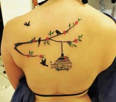 flores em tatuagem - Pesquisa Google