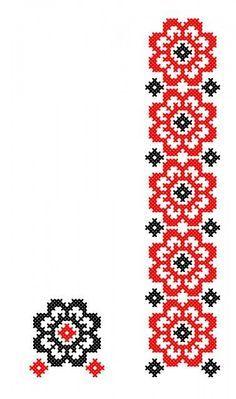 FL211 Cross Stitch Geometric, Cross Stitch Borders, Cross Stitch Flowers, Cross Stitch Charts, Cross Stitch Designs, Cross Stitching, Cross Stitch Patterns, Folk Embroidery, Cross Stitch Embroidery