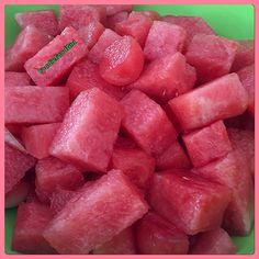 'They' say Life is like Bowl of Cherries.  I like to say Life is like a Bowl of Watermelon  #rawfruit #rawfood #watermelon #plantfood #fruitbowl #fruit #yummy #bowlofsweetness