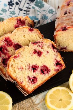 Glazed Raspberry Lemon Bread is exactly what you need with your morning coffee or afternoon tea. You will love the lemon glaze!