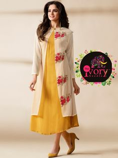 Long kurti | casual wear  office wear | college wear customization to stitching  @The Ivory Needle.in #anarkali #floorlenght #womensclothing #boutique #clothingstore #partywear #ethnicwear #occasionalwear #curated #handpickedcollection #momdaughtercombo #l4l #ff #followback #designerwear #designing #coimbatorefashion #fashion #trendy #indianfashion #weddingcollection #moderncollection #funloving #theivoryneedle #womenswear