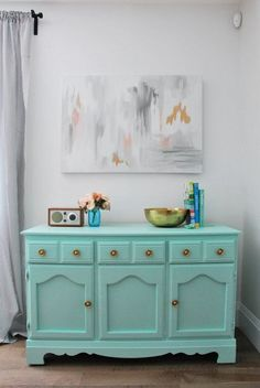 re finishing a mint gold dresser, painted furniture