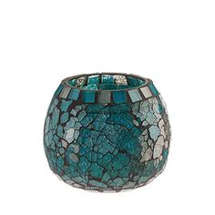Amber Home Goods Blue Moon Glass Ball Votive Large -- Check out this great product. (This is an Amazon Affiliate link and I receive a commission for the sales)