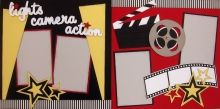 Hollywood Studios/ All star Movie {pinned by www.thedisneykids.com} #DisneyScrapbooking #DisneyScrapbook
