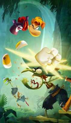 Rayman Legends Concept Art