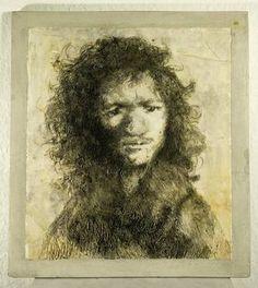 """Saatchi Art Artist Monika Hafner; Sculpture, """"Rembrandt II."""" #art"""