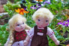 The Fairies Nest - OOAK Cloth Dolls & Fiber Fantasies: Story Book Dolls