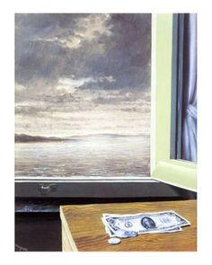 René Magritte - La fissure (1949)