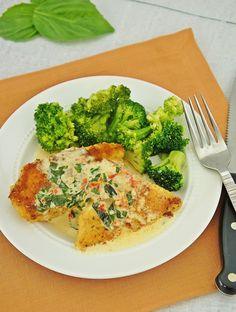 Chicken in Basil Cream Sauce ~ The Kitchen Life of a Navy Wife
