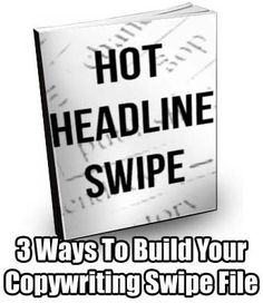 Aside from Googling older salesletters from big-name publishers and copywriters, here are 3 ways you can build your own swipe file: http://www.internetmasterycenter.com/blog/2012/08/28/3-ways-to-build-your-copywriting-swipe-file/