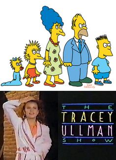 April 19, 1987: The Simpsons cartoon (looking quite a bit different than they do today) first appears as a series of shorts on The Tracey Ullman Show.