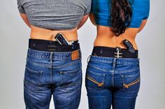 How can you holster under sweatpants, gym shorts and pajama bottoms? Can Can Concealment, that's how! It's the first thing you put on in the morning and the last thing you take off at night--all day compression holstering comfort for guys and dolls. Like us today on FaceBook!  Gun Holsters Concealed Carry Womens Gun holsters Self Defense Safety