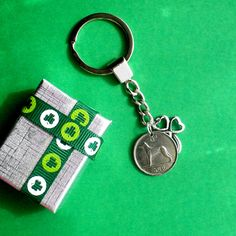 1948 Birthday Irish Sixpence Coin Keyfob with shamrock, Direct from Wexford, Bit, Wolfhound coin keyfob, More Dates See options Celtic Circle, Irish Culture, 70th Birthday Gifts, Christmas Labels, Wolfhound, Key Fobs, Etsy Vintage, Coins, Gift Wrap