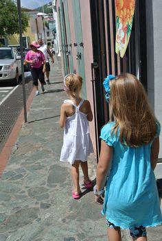 Walking the beautiful streets of St. Thomas <3 #St.thomas #Disneycruiseline #dreamisawishvacations