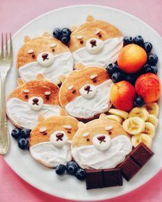 Breakfast ideas, breakfast recipes, breakfast healthy, aesthetic food, i lo Healthy Smoothies For Kids, Healthy Breakfast Smoothies, Healthy Meals For Kids, Kids Meals, Breakfast Recipes, Breakfast Casserole, Breakfast Pancakes, Vegan Breakfast, Healthy Food