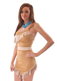 diy pocahontas costume - Google Search
