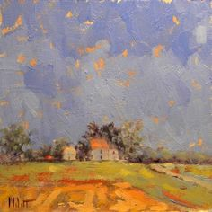 country landscapes | Impressionism Country Living Farmhouse Fall Summer Landscape Heidi ...