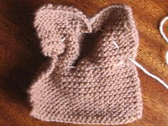 Knitted Bunny tutorial - Step 3