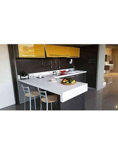 Modern kitchen doorways