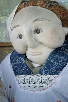 One of the handmade, life-size dolls of Nagoro in Tokushima #Tokushima #doll