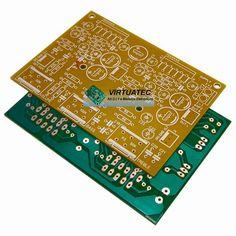 Placa para amplificador TDAxxxx 4 canais + tonal
