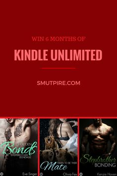 Win 6 months of Kindle Unlimited