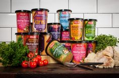 Felix Soup | Amore Packaging Design & Brand Identity