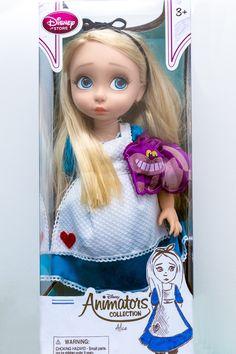 https://flic.kr/p/zzKJjJ | Alice animator doll Disney store Alice in wonderland Alice au pays des merveilles ooak repaint Poupee Pikipook custom limited edition