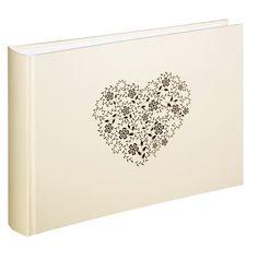 Hama Foto- und Gäste-Album Anzio, 30x20 cm, 60 weiße Seiten im Universal Online Shop