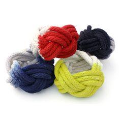 Rope Knot Bracelet |  http://adornmilk.com