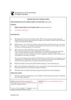 Mou Sample - Invitation Templates - memorandum of understanding sample
