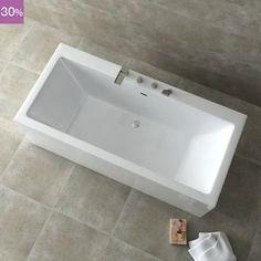 Baignoire sabot vania 120 x 70 cm salle de bain pinterest for Baignoire petit prix