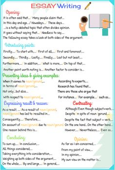 Simple tips for writing essays in English: these steps will guide you through the essay writing process...