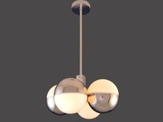 """Wahrhaftig by WOKA 1920-30. This chandelier is a great example of the """"Machine age Art Deco"""" around 1920 in Vienna."""
