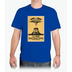 Close Encounters Of The Third Kind Movie Poster Bee Movie - Mens T-Shirt