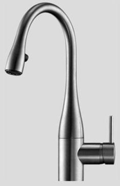 Kitchen prep faucet = KWC Eve in polished chrome