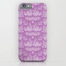 Chevron Toile, Light Purple Slim Case iPhone 6s