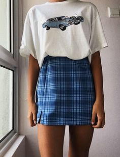 fashion vintage outfits falda pin by lulusimonstudio on fashion in 2019 brandy melville outfits outfits aesthetic clothes p wintergrunge Retro Outfits, Teen Fashion Outfits, Mode Outfits, Cute Casual Outfits, Outfits For Teens, Girl Outfits, Fashion Clothes, 90s Clothes, Clothes From The 90s
