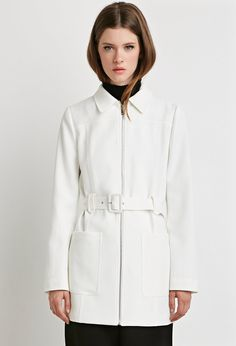 Belted Trench Jacket | Forever 21 - 2000156372