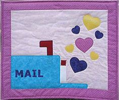 Sweet Mail Valentine Quilt Pattern by GrandmasSupplyAttic on Etsy, $10.00