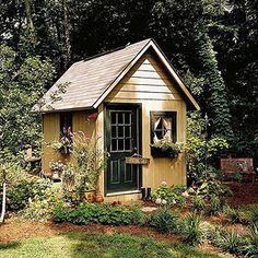 Cottage garden sheds on pinterest garden sheds posh for English garden shed designs