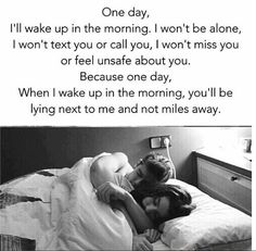 I wish to wake up all morning like this. Love forever | You and me
