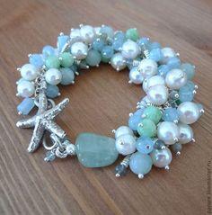"""Купить Ожерелье """"Royal Blue"""" из очень крупного Лазурита (бусы из лазурита) - авторские украшения"""