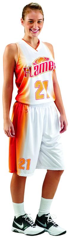 022f1a17b Fast Break fully sublimated ProSphere women s basketball uniform. Teamwork  Athletic Apparel