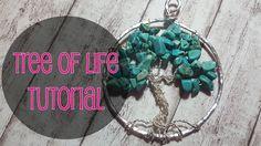 ENG SUBS - DIY TUTORIAL TREE OF LIFE/ ALBERO DELLA VITA -  WIRE WEAVING ...